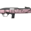 """MOSSBERG, 702 PLINKSTER AUTOLOADING RIFLE, 22LR, 18"""" FREE FLOATING BARREL, PINK MARBLE FINISH SYNTHETIC CHECKERED - MILLER ARMORY"""