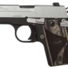 Buy Sig Sauer P238 .380ACP 6RD Duo Tone Night Sights Black Grip MA compliant - Miller Armory
