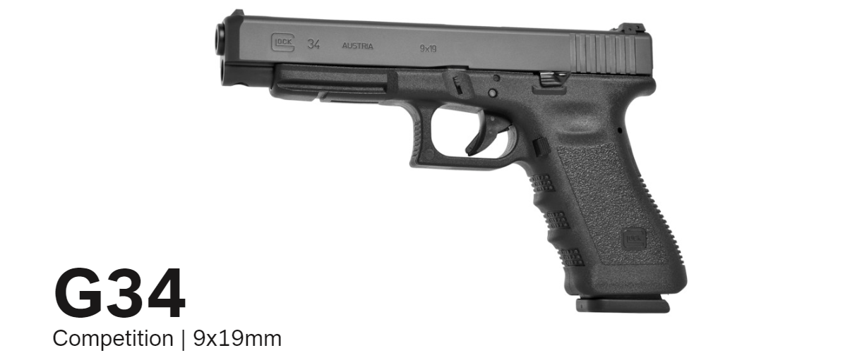 Buy G34 Competition 9x19mm – Buy GLOCK 34 Online – Miller Armory