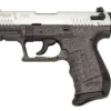 """Buy Walther P22 .22LR 3.4"""" B Chrome 1-10RD CA - Miller Armory"""