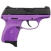 """Buy Ruger LC380 Semi Auto Pistol .380 ACP 3.12"""" Barrel 7 Rounds Purple Polymer Frame Blued Finish - Miller Armory"""
