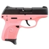 """Buy Ruger LC380 Semi Auto Pistol .380 ACP 3.12"""" Barrel 7 Rounds Pink Polymer Frame Black 3223 - Miller Armory"""
