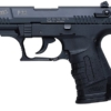 """Buy Walther P22 *CA Approved* 22LR 3.42"""" 10+1 w/Laser Poly Grip Blue - Miller Armory"""