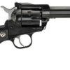 """Buy Ruger 10623 Single-Six Convertible 22LR/22Mag 4.62"""" 6rd w/AS Blk Rubbr Grip Blue - Miller Armory"""